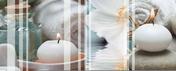 Décor Soul 1 carrelage pour mur en faïence FUSION larg.20cm long.50cm - Arêtier cornier coloris vieillie chateau - Gedimat.fr