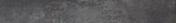 Plinthe carrelage pour sol en grès cérame émaillé METROPOLIS larg.7,5cm long.60,5cm coloris antracite - Décor TREND pour mur en faïence mate TREND larg.25cm long.50cm coloris gris - Gedimat.fr