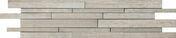 Décor Muretto carrelage pour mur en grès cérame émaillé BETONAGE larg.15cm long.60cm coloris brune - Rive rabat droite à emboîtement 2/3 pureau MERIDIONALE coloris brun - Gedimat.fr
