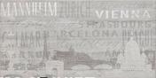 Décor Citta Mix carrelage pour sol et mur en grès cérame émaillé BETONAGE larg.30,5cm long.60,5cm coloris gris - Vasque ronde à poser AUTEUIL pierre haut.15cm diam.42cm noir - Gedimat.fr