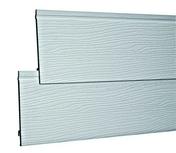 Bardage PVC cellulaire ép.18mm larg.167mm long.4m Gris clair - Planelle à rupture thermique long.80cm ép.6,5cm haut.24cm - Gedimat.fr