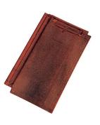 Tuile SANTENAY coloris vieilli bourgogne - Poutre VULCAIN section 25x30 cm long.6,00m pour portée utile de 5,1 à 5,60m - Gedimat.fr