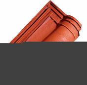 Tuile ROMANEE coloris rouge - Poutrelle en béton X92 haut.9,2cm larg.8,5cm long.2,60m - Gedimat.fr