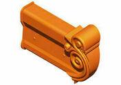 About de rive gauche pour tuiles RENAISSANCE coloris rouge naturel - Tuile à douille CANAL diam.150mm lc coloris garance - Gedimat.fr