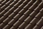 Tuile CANAL LANGUEDOCIENNE coloris brun - Tuile double à bourrelet ROMANE SANS coloris vieux pastel - Gedimat.fr