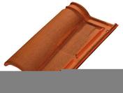 Tuile ROMANE EVOLUTION TBF coloris brun rustique - Tuile à douille ROMANE TBF diam.130mm coloris vieilli languedoc - Gedimat.fr