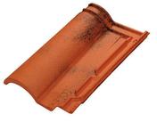 Tuile ROMANE EVOLUTION TBF coloris vieilli castel - Modénature perforée pour enduits grattés avec jonc PVC coloris 537 gris long.3m ép.15mm - Gedimat.fr