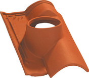 Tuile à douille OMEGA 10 diam.150mm coloris nuance coloris paille - Enduit de parement traditionnel PARDECO TYROLIEN sac de 25kg coloris V44 - Gedimat.fr