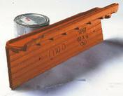 Rive individuelle gauche à emboîtement rabat court OMEGA 10 coloris vieux toits - Bloc béton creux B40 NF ép.27,5cm haut.25cm long.50cm - Gedimat.fr