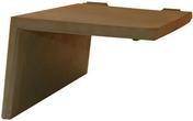 Rive à rabat gauche à recouvrement BEAUVOISE coloris flammé rustique - Marqueur permanent Onyx petit modèle corps métal noir - Gedimat.fr