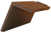 Demi-tuile à rabat droite à emboitement BEAUVOISE coloris flammé rustique - Marqueur permanent Onyx petit modèle corps métal noir - Gedimat.fr