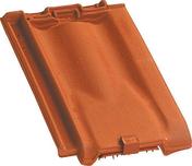 Tuile de ventilation PROVINCIALE + grille coloris vieilli masse - Tuile à douille PROVINCIALE diam.120mm coloris rouge - Gedimat.fr