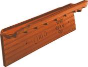 Rive individuelle droite à emboîtement rabat court OMEGA 10 coloris vieux toits - Contreplaqué Faces Sapelli II/II MARINE ép.12 larg.1,53m long.2,50 - Gedimat.fr