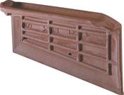 Rive individuelle gauche à recouvrement CASTEL coloris rouge ancien - Mortier pour joints minces de carrelage WEBER.JOINT FIN sac 10kg Gris perle - Gedimat.fr