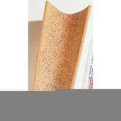 Tuile CANAL GIRONDE tenon à blocage coloris vieilli - Planelle terre cuite POROTHERM à rupture thermique long.80cm larg.6,5cm haut.16cm - Gedimat.fr