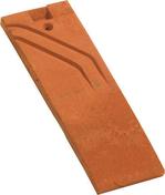 Demi-tuile PLATE 16x24 Phalempin coloris vieilli - Rond Pin des Landes sans nœud D.15mm long.2m - Gedimat.fr