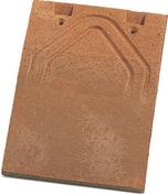 Tuile PLATE 16x24 PHALEMPIN coloris vieilli - Attache cavalier à clouer pour câble rond diam.7mm coloris gris sous boîte de 100 pièces - Gedimat.fr