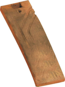 Demi-tuile plate tradition PLATE 17x27 Phalempin coloris muraille - Tuile châtière pour tuile PLATE 16x24 Phalempin coloris ambre - Gedimat.fr