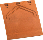 Tuile et 1/2 PLATE 17x27 Phalempin coloris millenium - Brique terre cuite CLOISOBRIC T8 ép.8cm long.50cm haut.24cm - Gedimat.fr