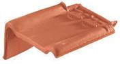 Demi-tuile à rabat gauche ARTOISE coloris noir brillant - Carrelage pour sol en grès cérame rectifié MADEIRA larg.22,5cm long.90cm coloris beige - Gedimat.fr