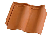 Tuile DOUBLE PANNE S coloris vieilli - Batterie de préchauffage avec thermostat réglable 600W diam.12,5cm - Gedimat.fr
