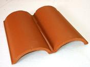 Génoise double 32x30 coloris rouge - Poutre VULCAIN section 12x40 cm long.2,50m pour portée utile de 1,6 à 2,10m - Gedimat.fr