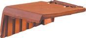 Rive à rabat gauche à recouvrement VALOISE coloris flammé rustique - Briquettes en grès cérame émaillé LONDON BRICK larg.6cm long,25cm coloris brown - Gedimat.fr