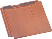 Tuile et 1/2 fin droite à emboîtement BEAUVOISE coloris ardoise - Platoir à gréser semelle ABS renforcée poignée plastique 30x14cm - Gedimat.fr
