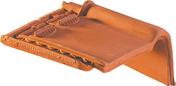 Rive à rabat droite à emboîtement MONOPOLE 1 coloris rouge - Porte d'entrée PVC FERMETTE avec isolation totale de 160 mm droite poussant haut.2,15m larg.90cm blanc - Gedimat.fr