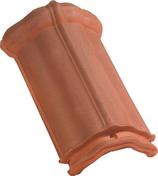 Arêtier à emboîtement TERROISE coloris vieilli masse - Raccord 2 pièces droit laiton/cuivre à écrou prisonnier 359GCL diam.20x27mm pour tube diam.16mm 1 pièce sous coque - Gedimat.fr