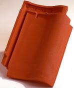 Tuile PANNE S coloris ardoise - Tuile de ventilation OMEGA 10 + grille coloris référence 9 - Gedimat.fr