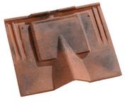 Tuile de ventilation NEOPLATE avec grille coloris Chevreuse - Demi-tuile PLATE PRESSEE 17x27 coloris rouge nuance - Gedimat.fr