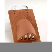 Tuile châtière pour tuile PLATE 16x24 Phalempin coloris ambre - Bois Massif Abouté (BMA) Sapin/Epicéa non traité section 100x240 long.6m - Gedimat.fr