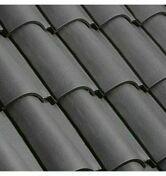 Rive individuelle droite à emboîtement DOUBLE HP20 coloris ardoise - Enduit de parement traditionnel PARDECO TYROLIEN sac de 25kg coloris O153 - Gedimat.fr