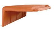 Demi-rive à rabat droite DOUBLE HP20 coloris ardoise - Demi-tuile PLEIN SUD coloris mediterranea - Gedimat.fr