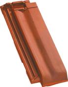 Demi-tuile H10 coloris flammé rustique - Porte d'entrée Aluminium GEOD avec isolation totale de 100mm droite poussant haut.2,15m larg.90cm laqué gris - Gedimat.fr