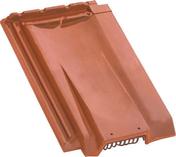 Tuile de ventilation H10 tenon très haut coloris flammé rustique - Radiateur panneau rayonnant DUO 1500W Long.81,3cm Haut.45,5cm Ép.13,5 cm SAUTER - Gedimat.fr