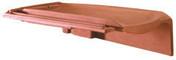 Rive rabat droite H10 tenon très haut à glissement coloris noir brillant - Brique terre cuite base POROTHERM R30 ép.30cm haut.24,9cm long.37,3cm - Gedimat.fr