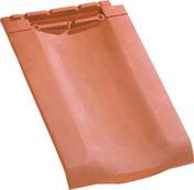 Tuile double à bourrelet H10 tenon très haut coloris ardoise - Plinthe carrelage pour sol en grès émaillé ORLON CIMENT larg.8cm long.33,3cm coloris beige - Gedimat.fr