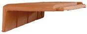 Rive à rabat gauche HP10 HUGUENOT coloris ardoise - Poutrelle en béton X92 haut.9,2cm larg.8,5cm long.4,30m - Gedimat.fr