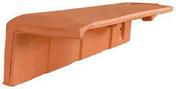 Demi-tuile de rive à rabat gauche HP10 HUGUENOT coloris ardoise - Poutrelle en béton X92 haut.9,2cm larg.8,5cm long.4,30m - Gedimat.fr