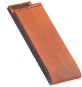 Demi-tuile de finition HP10 HUGUENOT coloris ardoise - Poutrelle en béton X92 haut.9,2cm larg.8,5cm long.4,30m - Gedimat.fr
