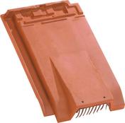 Tuile de ventilation HP13 HUGUENOT + grille coloris ardoise - Bloc béton de chaînage vertical NF ép.20cm haut.20cm long.50cm - Gedimat.fr