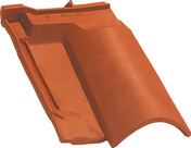 Sous faitière OMEGA 10 coloris rouge - Profilé acier plat 35mm acier laminé à chaud ép.6mm long.2m - Gedimat.fr