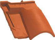 Tuile sous faitière 3/4 pureau OMEGA 10 coloris vieux toits - Carrelage pour sol en grès cérame rectifié MADEIRA larg.22,5cm long.90cm coloris anthracite - Gedimat.fr