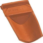 Closoir de faitière casson OMEGA 10 coloris vieilli nuance sur fond rouge - Doublage isolant plâtre + polystyrène PREGYSTYRENE TH38 PV ép.10+20mm larg.1,20m long.2,50m - Gedimat.fr