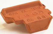Closoir de faîtage MERIDIONALE lc coloris brun - Poutre VULCAIN section 20x25 cm long.5,50m pour portée utile de 4,6 à 5,10m - Gedimat.fr