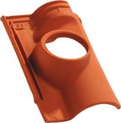 Tuile à douille OCEANE diam.150mm coloris rouge - Porte d'entrée Aluminium XOEN avec isolation totale de 120mm gauche poussant haut.2,15m larg.90cm laqué gris - Gedimat.fr