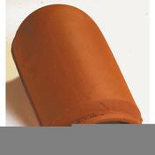 About d'arêtier lisse à emboîtement coloris rouge nuance - Bloc de béton cellulaire d'angle ép.20cm long.60cm haut.25cm - Gedimat.fr
