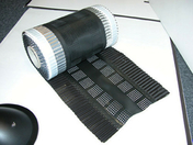 Closoir mixte aluminium/PVC 300mm rouleau 5ml coloris ardoise - Closoirs - Couverture & Bardage - GEDIMAT